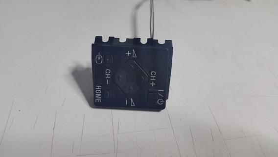 Placa Dos Botões Laterais Da Tv Sony Bravia Kdl-32w605a