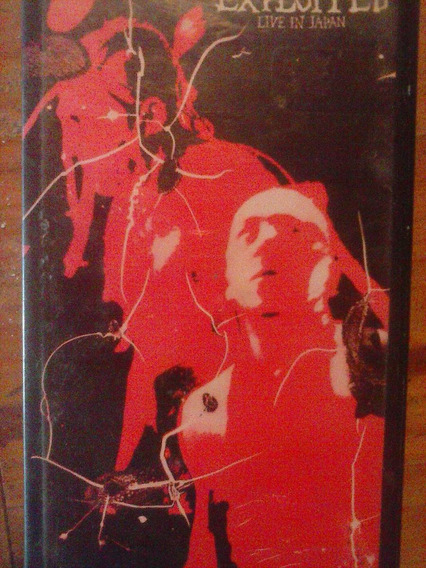 Exploited Live In Japan Video Original Vhs