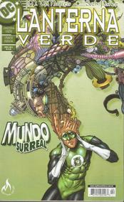 Lote Lanterna Verde Mundo Surreal - Bonellihq Cx453 H18