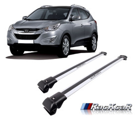 Rack De Teto Travessas Hyundai Ix35 Projecar Prata