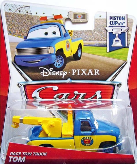 Disney Cars Race Tow Truck Tom Mattel Mcqueen Carros 1