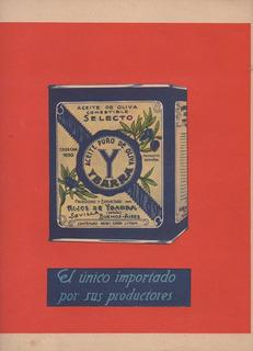 Aceite Oliva Ybarra Publicidad Original De Revista (a)