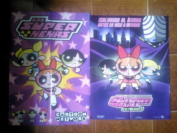 Lote Posters Las Chicas Superpoderosas - Cartoon Network Cn