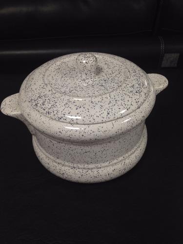 Fuente De Ceramica Con Tapa.