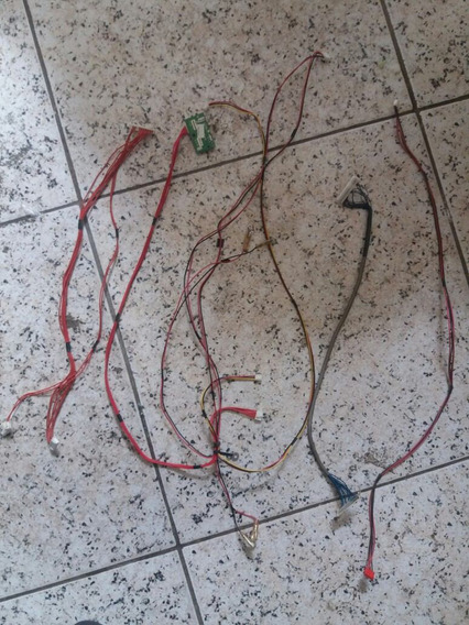 Conjunto De Cabos Interno Tv Buster Hbtv32d01hd