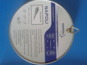 Cabo Hdmi 1.3 Napoli 1080p Full Hd Blu-ray Sat Receiver Dvd