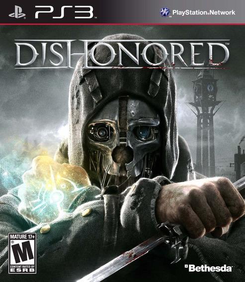 Dishonored Ps3 | Mídia Física Original Playgorila
