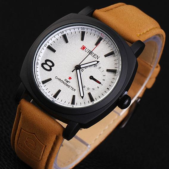 Relógio Curren Mod. 8139 Quartz Sport Masculino Aço Inox