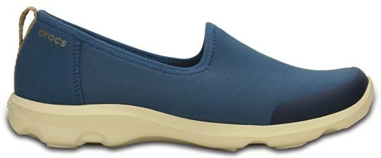 Zapato Crocs Dama Busy Day Stretch Skimmer Azul