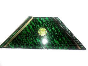 Cítara Mini Harpa Verde Acompanha 10 Partituras Grátis