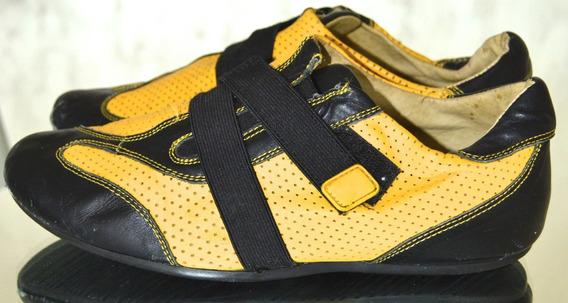 Zapatillas Comodisimas Simil Cuero Importadas