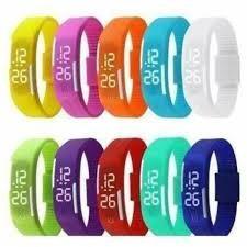 Kit Com 10 Relógio Pulseira Nike Digital Led Pronta Entrega