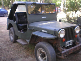 Jeep Willys 1947 Original Doble Traccion Y Baja