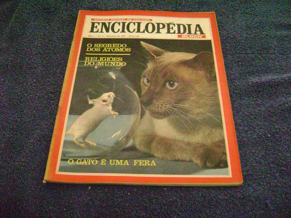 Revista Enciclopedia 05 - Set/67 - Bloch- Rio G Sul/alemanha