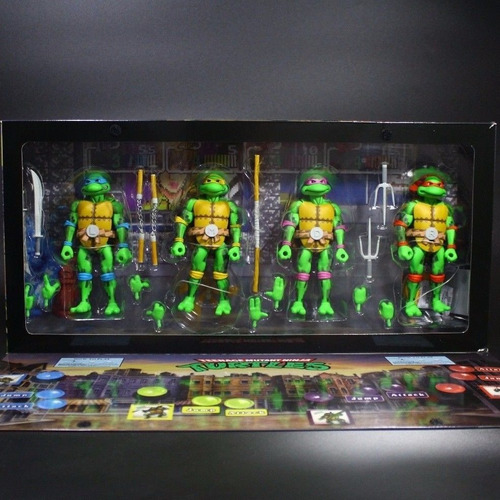 Teenage Mutant Ninja Turtles Neca Sdcc (tortugas Ninja)