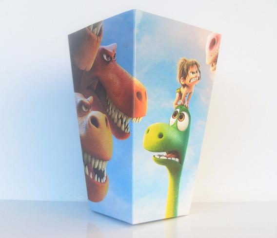 Cono Para Pochoclos Y Golosinas Un Gran Dinosaurio Pack X40