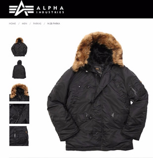 Campera Alpha Industries Parka N3b Original