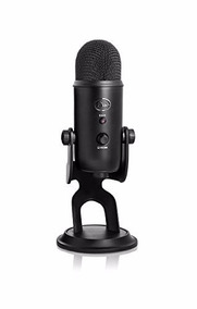 Microfone Blue Yeti Blackout Edition Usb Condensador