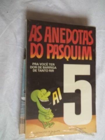 * Livro - As Anedotas Do Pasquim - Literatura Nacional