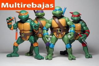 Coleccion De Juguetes Las Tortugas Ninja