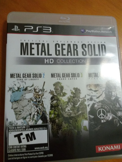 Metal Gear Solid Hd Collection, 4 E Rising Todos Por 60