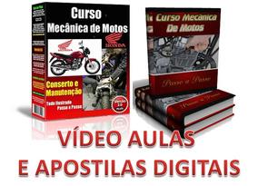 Mecânica De Motos E Injeção Eletrônica 56 Dvds X