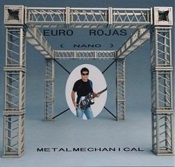 Cd Música Rock Guitarra Metalmechanical Euro Rojas (digital)