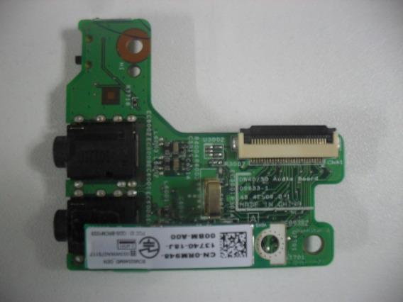 Placa Áudio E Bluetooth Notebook Dell Vostro 3500 Series