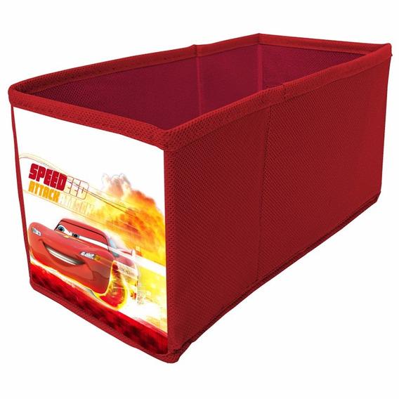 Caixa De Tecido Para Cds Disney Cars - Prat-k