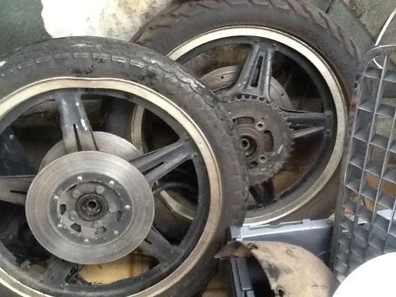 Rodas De Moto Cb400 Só Dianteira