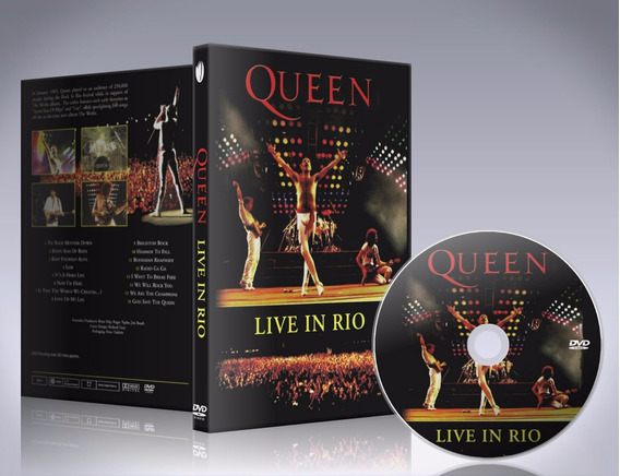 Dvd Queen - Live In Rio 1985