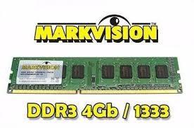 Memória P/ Pc Markvision 4.0gb 1333mhz Ddr3 Ótimo Estado!!!!