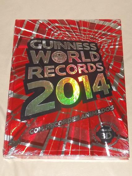 O Livro Dos Recordes Guinness World Records 2014 (capa Dura)