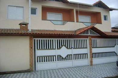 Ref.: 427 - Casa Em Praia Grande, No Bairro Vila Tupi - 2 Dormitórios