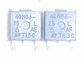2pcs Transistor Sud40n06-25l 40n06 Smd Original Cr8,00+5