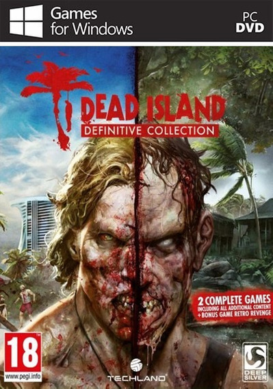 Dead Island Definitive Collection (mídia Física) Pc - Dvd
