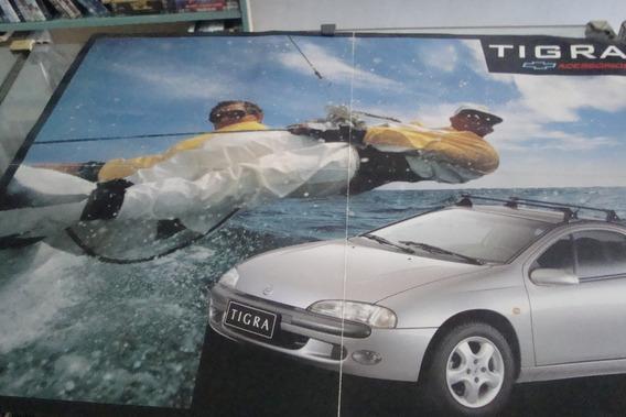 Poster Cartaz Foto Catalogo Chevrolet Tigra Acessorios
