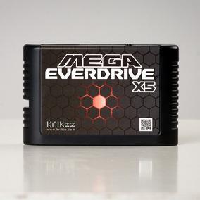 Flashcard Mega Everdrive X5 Krikzz Para Mega Drive Original!