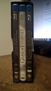 Juegos De Tronos Game Of Thrones Temporadas 1 - 3