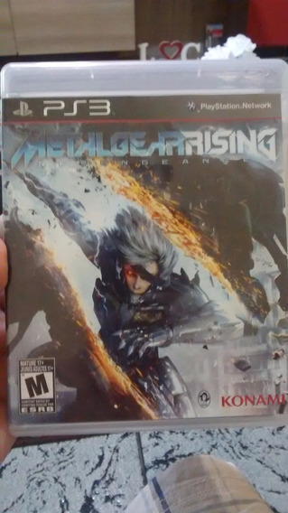 Metal Gear Rising - Jogo Ps3