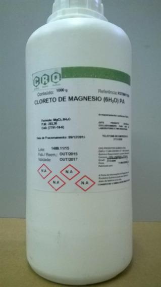 Cloreto De Magnesio Pa 1kg Frete Grátis !!!