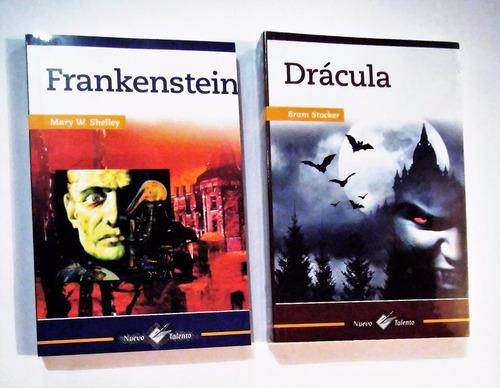 Imagen 1 de 6 de Frankenstein + Dracula Paquete 2 Libros Nuevos