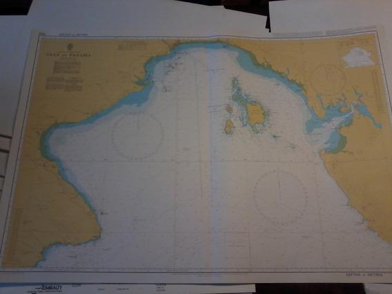 Carta Nautica Golfo De Panama