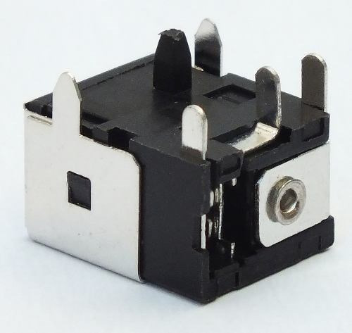 Kit 50 Pçs Conector Dc Jack Cce Positivo 5,5*2,5 Dcj044