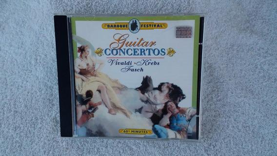 Cd Guitar Consertos Vivaldi.krebs Frasch 2000 Ja 114