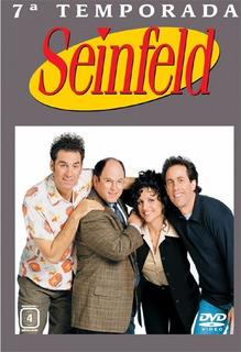 Seinfeld 7ª Temporada - Box Com 4 Dvds - Jerry Seinfeld