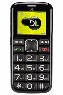 Lote 10 Celular P/ Idoso Dual Yc110 Lacrado