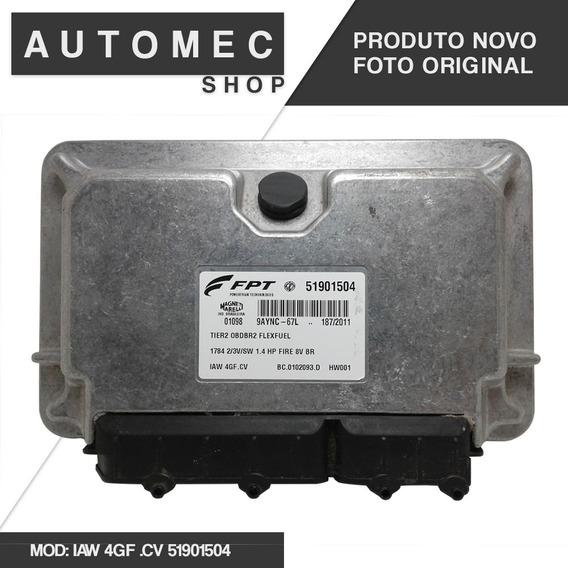 Modulo De Injeção Fiat Fire 1.4 8v Iaw 4gf .cv 51901504