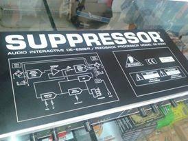 De-esser Suppressor Behringer De2000 - Somos Loja !!!