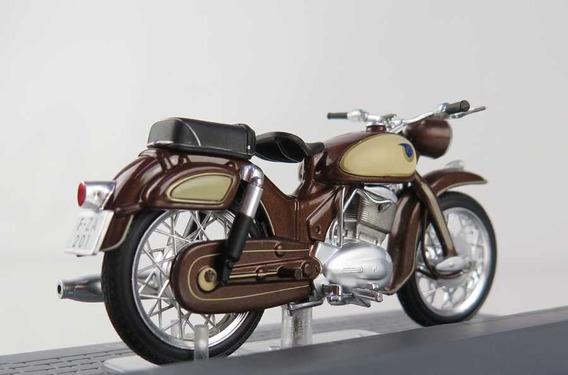 Miniatura Moto Nsu Supermax - 1961 - Escala 1:24 - Na Caixa